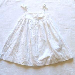 BABY GAP CHILDREN'S WHITE DRESS 2T